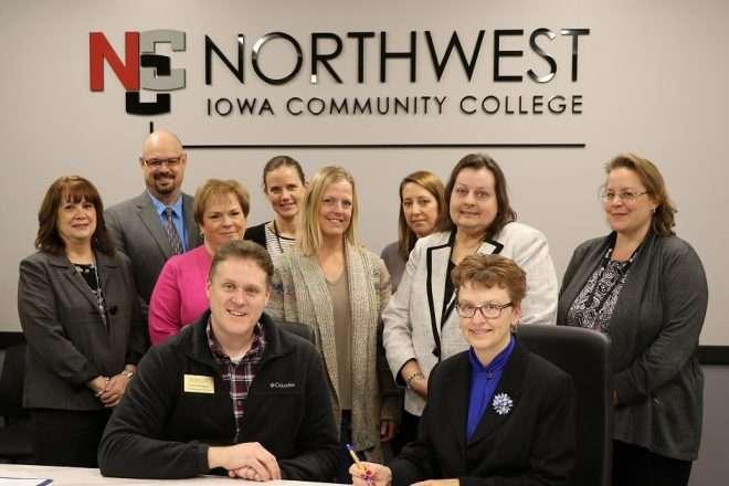 advanced nursing program between NCC and Brian Cliff